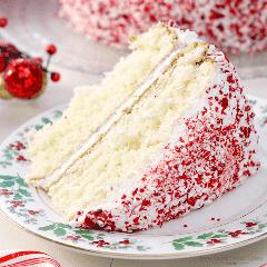 ¡Deslumbra a tus amigos y familiares con este sencillo y delicioso pastel de menta festivo! ¡Puede que se convierta en una tradición navideña! ANUNCIO