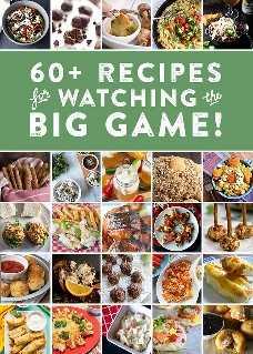64 receitas de festa de futebol!