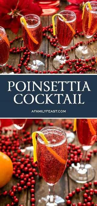 Cóctel Poinsettia