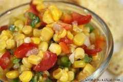 Receita de molho de milho mexicano é fácil de fazer