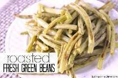feijão verde fresco torrado