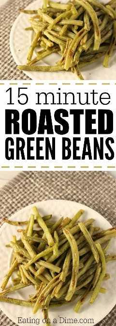experimente esta receita de feijão verde assado