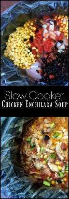 Sopa de frango enchilada de fogão lento   Receitas latinas!