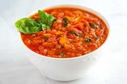 Receta casera de salsa marinara