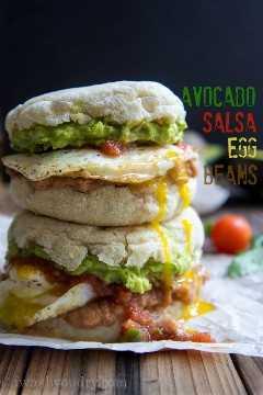Huevos Rancheros Sandwich De Desayuno