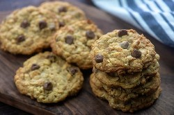 receta de galletas de guardabosques.