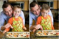 Caseiro pessoal pan pizzas-11