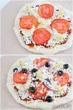 Pan-20 pizzas caseiras pessoais