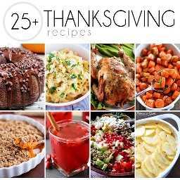Mais de 25 receitas de Ação de Graças!