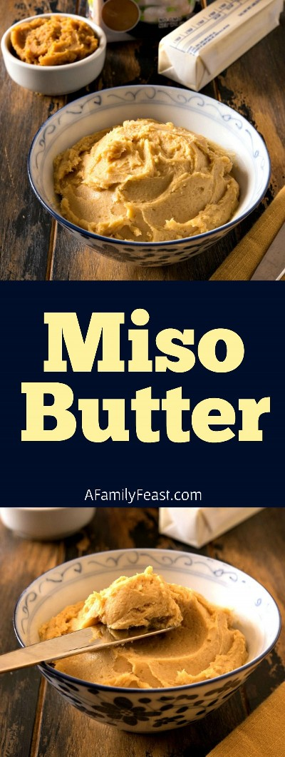 How to make homemade miso butter