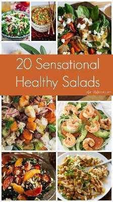 20 saladas sensacionais e saudáveis: uma festa em família