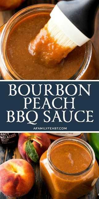 Molho de churrasco Bourbon Peach