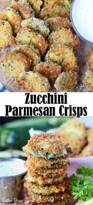 Crujientes de Calabacin con Parmesano
