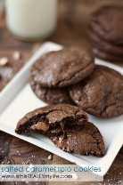 Caramelo salgado, caramelo, biscoitos Rolo