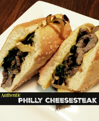Filés de queijo Philly autênticos | Receitas latinas!
