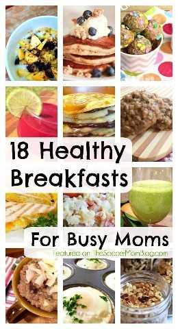 Tomar café da manhã é TÃO importante, mas também é a hora do dia em que estamos com pressa! Estas receitas saudáveis de café da manhã são perfeitas para mães ocupadas!