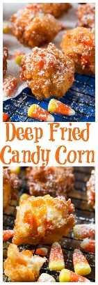 Deep Fried Candy Corn - Surpreendentemente delicioso!