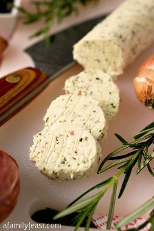 Butter Composed of Rosemary - A Family Party