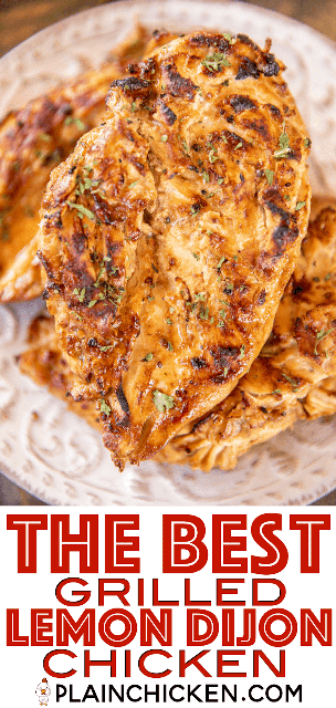 pollo a la parrilla en un plato