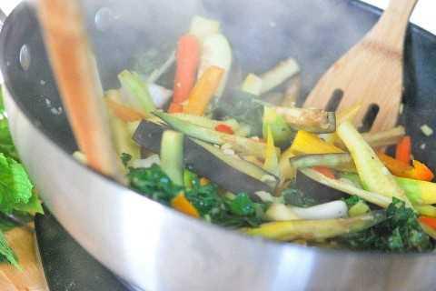 Cocinar las verduras