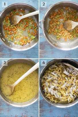 como fazer uma caçarola de macarrão de frango