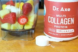Get the benefits of collagen without the effort of bone broth! This delicious collagen booster shake is packed with goodies your body will love!