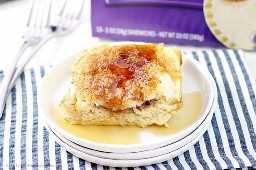 Leve o seu PB&J para o próximo nível com esta rabanada embutida durante a noite! O café da manhã nunca tinha um sabor tão bom.