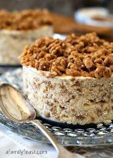 Biscoff Crunch Ice Cream Cake - um banquete em família