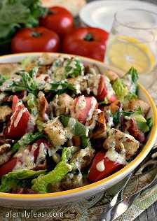 BLT Panzanella - A family party
