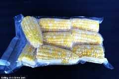 como congelar espigas de milho frescas
