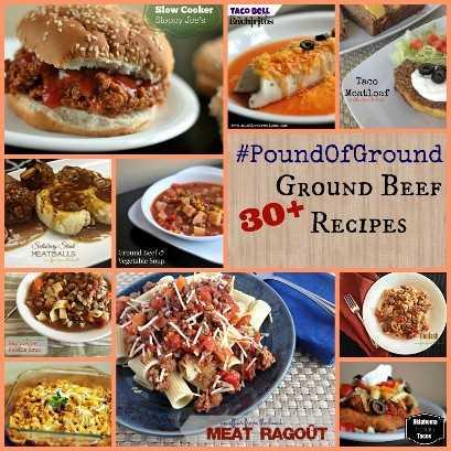 #PoundOfGround 30+ receitas de carne moída | Receitas latinas!