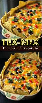 Caçarola de caubói Tex-Mex | Receitas latinas!