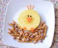 Mais de 50 almoços artísticos para crianças - Café da manhã com passarinhos