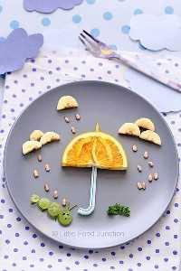 Mais de 50 almoços para crianças Food Art - Spring Rain Food Art