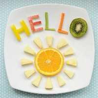 Mais de 50 almoços para crianças Food Art - Hello Sunshine Food Art