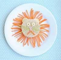 Mais de 50 almoços para crianças Food Art - Lion Food Art