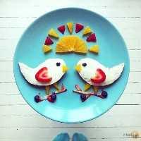 Mais de 50 almoços artísticos para crianças - cream cheese para madrugadores