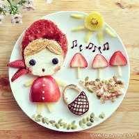 50+ Almoços Artísticos para Crianças: Chapeuzinho Vermelho
