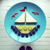 Mais de 50 almoços artísticos para crianças: navegue comigo