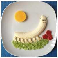 Mais de 50 almoços artísticos para crianças - Bananapede