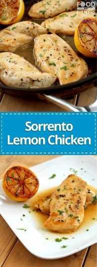 Receita de Frango com Limão Sorrento   # frango com limão # frango # receita