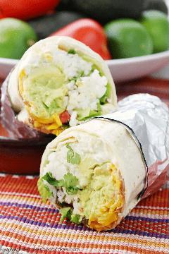 Burritos de 7 camadas - uma opção de refeição sem carne fácil e sem complicações!