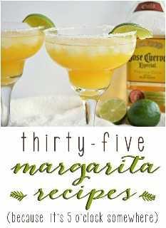 35 receitas de Margarita!