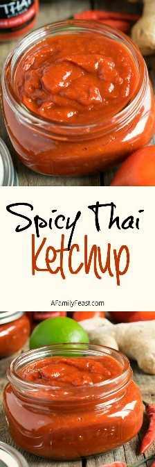 Salsa de tomate tailandesa picante - ¡Mejora un poco las cosas con esta salsa de tomate tailandesa picante fácil y deliciosa!