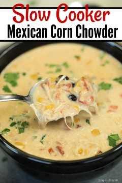 A receita mexicana de sopa de frango e milho da Crock Pot leva a sopa tradicional ao próximo nível. Frango saudável, milho cremoso e muito mais fazem a melhor comida.