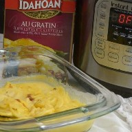 Como fazer batatas em caixa no pote instantâneo