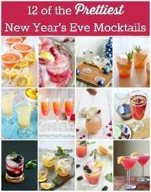 12 dos mais bonitos mocktails de véspera de Ano Novo