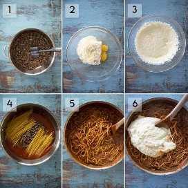 como fazer um bolo de espaguete