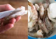 camarão alho