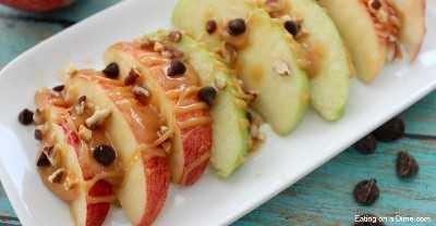 facebook imagem nachos maçã caramelo